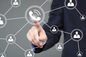 Cloud-hosted VOIP telephony